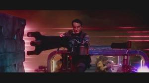 John Connor Brings Mounted Plasma Weapon to Target